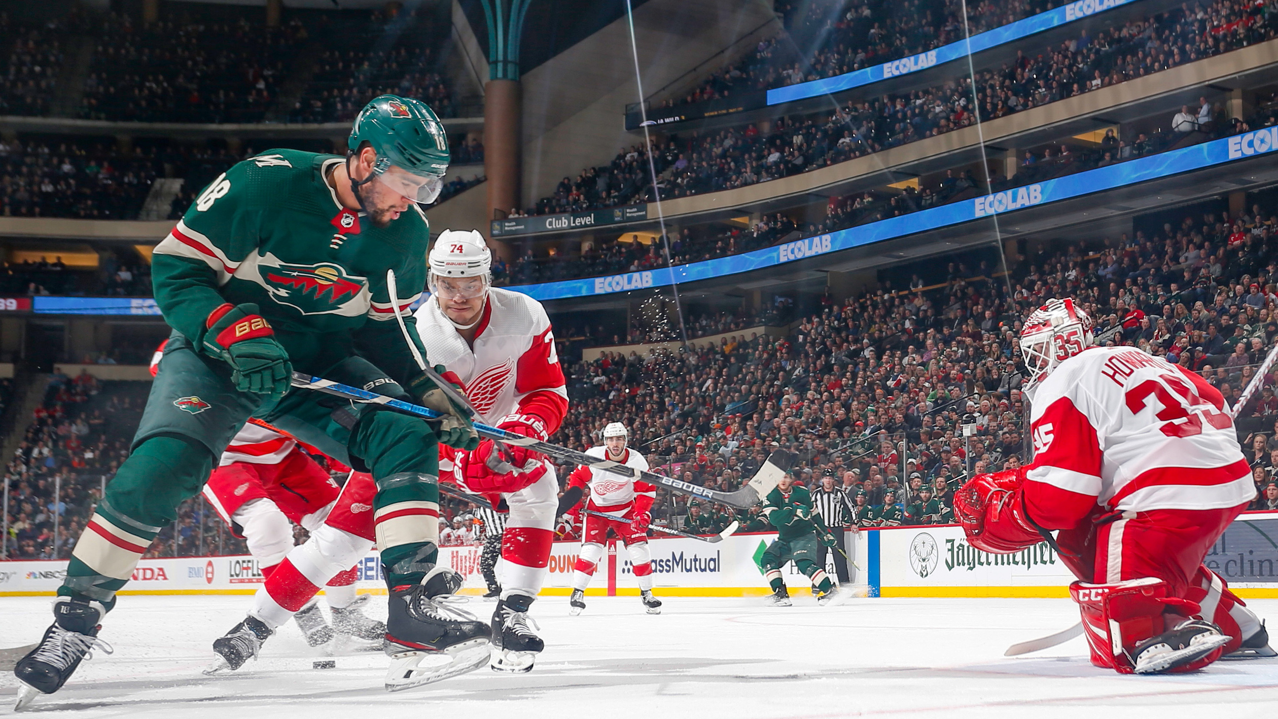 Highlights: Minnesota Wild 4, Detroit Red Wings 2
