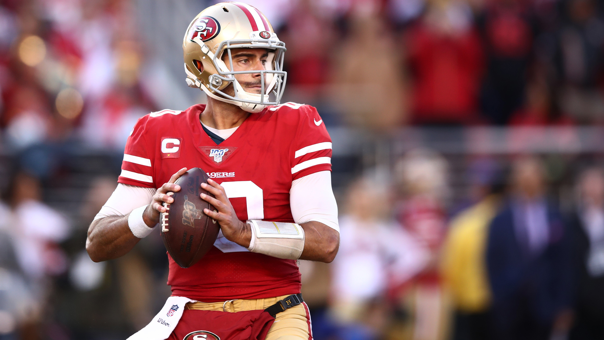 Will San Francisco 49ers be able to rely on Jimmy Garoppolo, passing