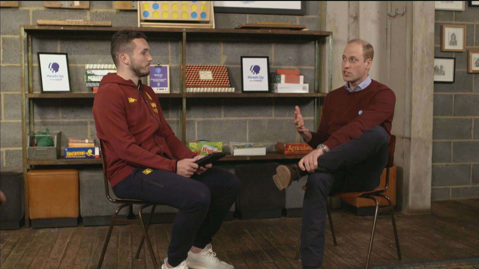John McGinn interviews Prince William, Duke of Cambridge