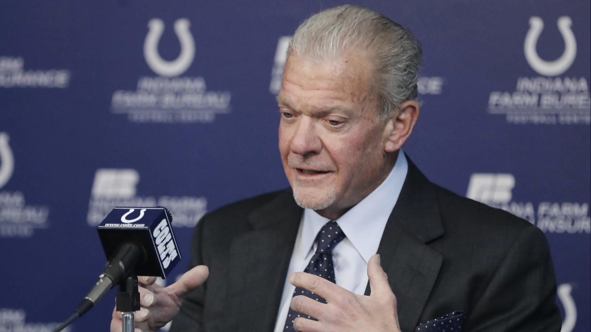 Colts' Jim Irsay wants NFL to keep combine in Indianapolis