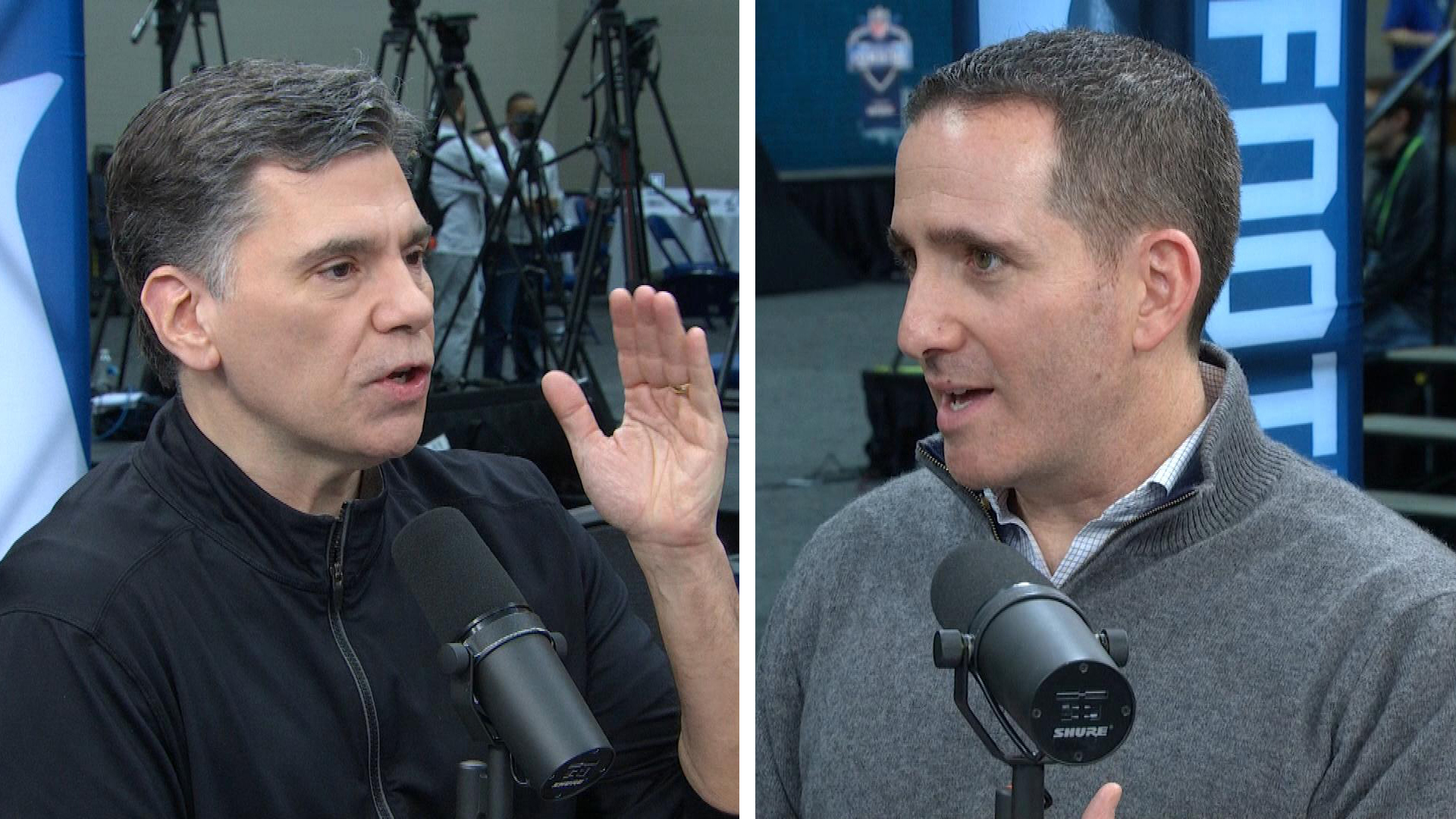 Eagles' Howie Roseman on helping Carson Wentz, major roster changes