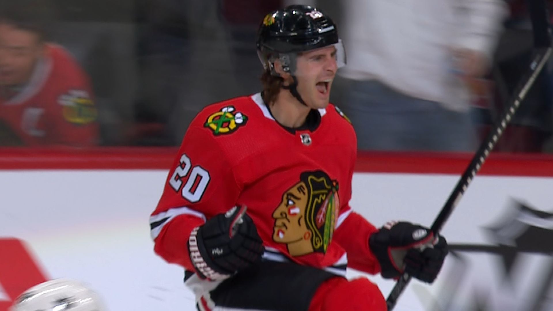 Patrick Kane, Brandon Saad score quickly to give Blackhawks lead vs. Sharks