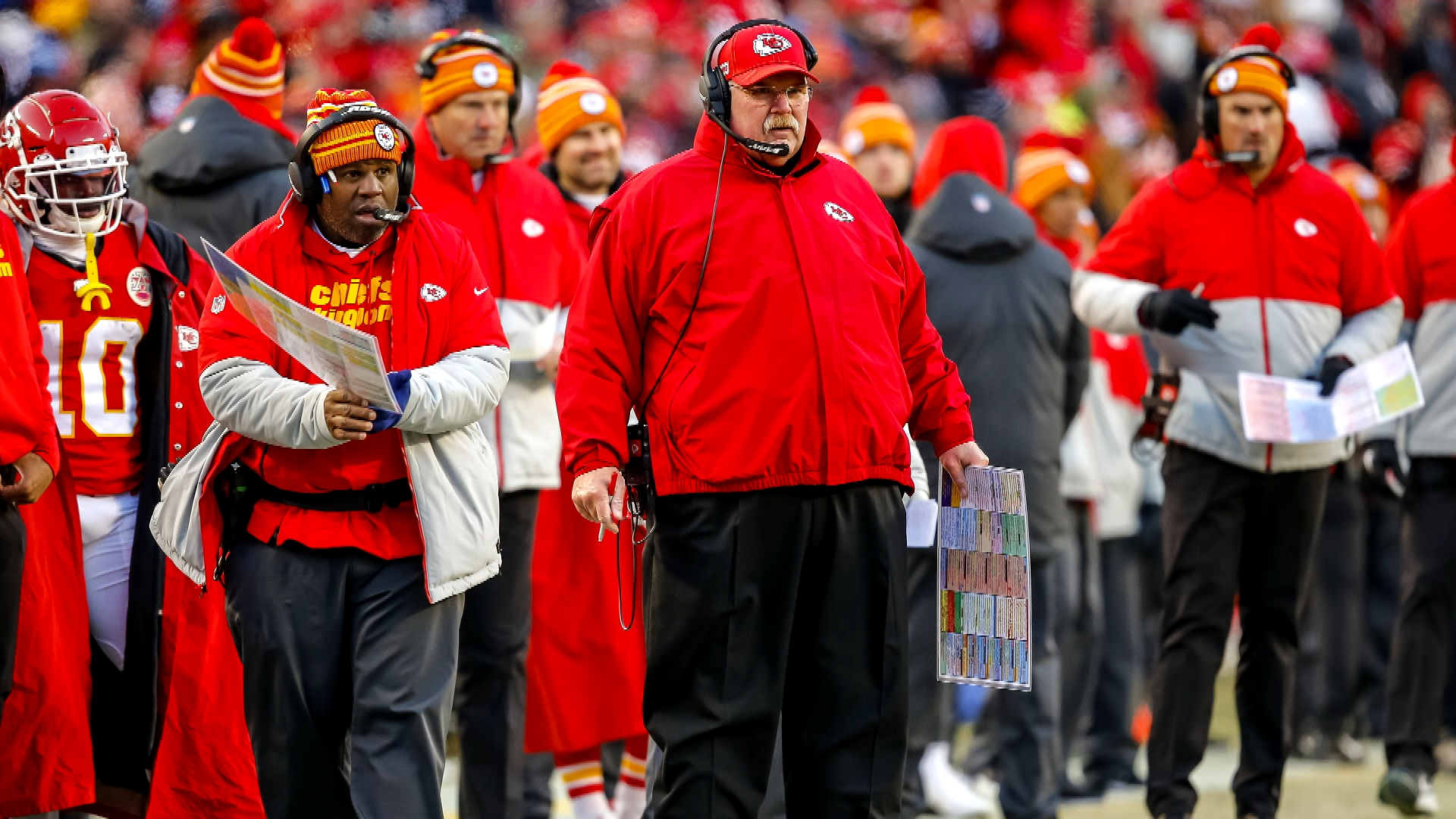 Eric Bieniemy's leadership stands out to Chiefs' Andy Reid