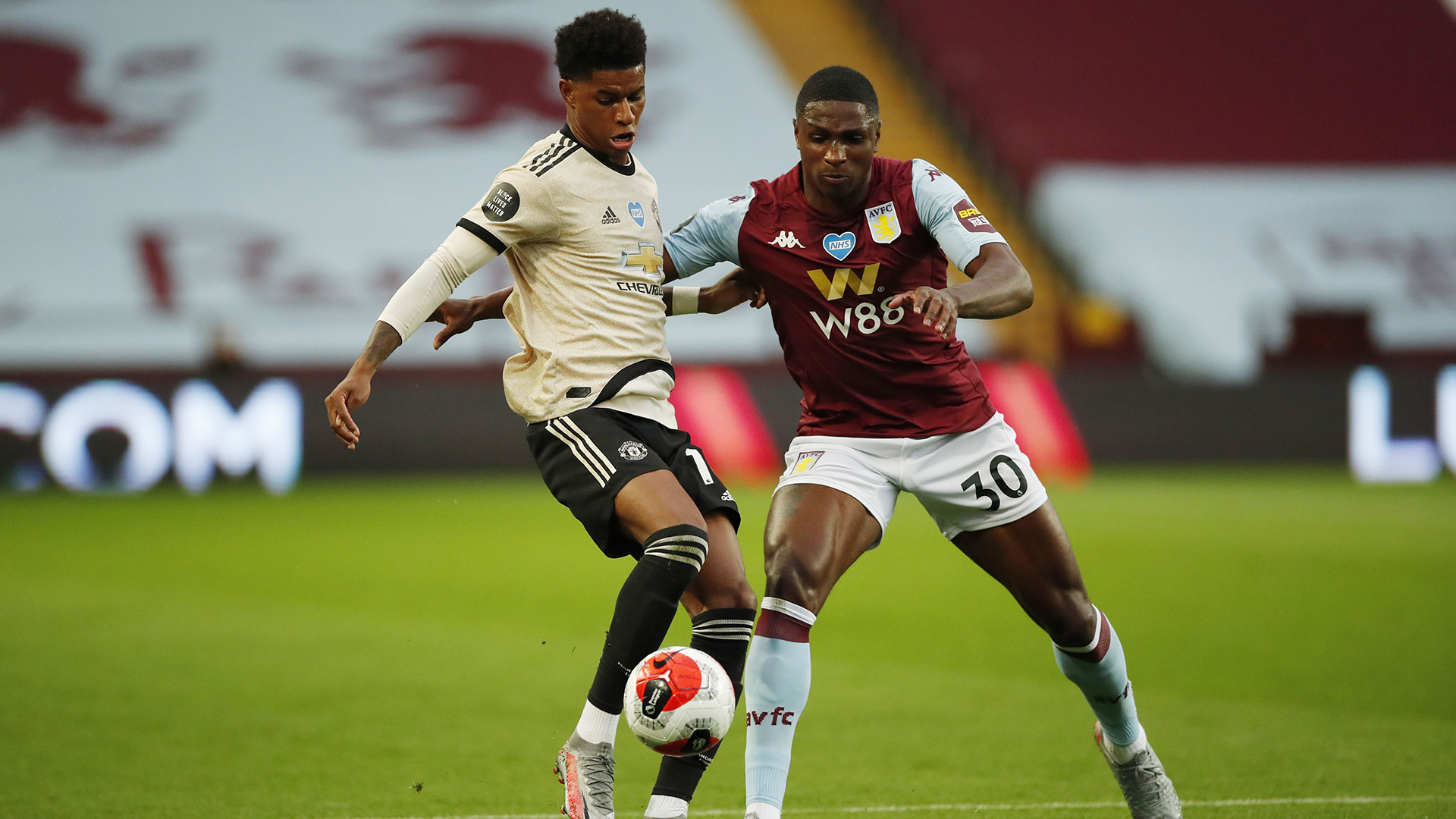 Extended Highlights Aston Villa 0 Manchester United 3 Nbc Sports