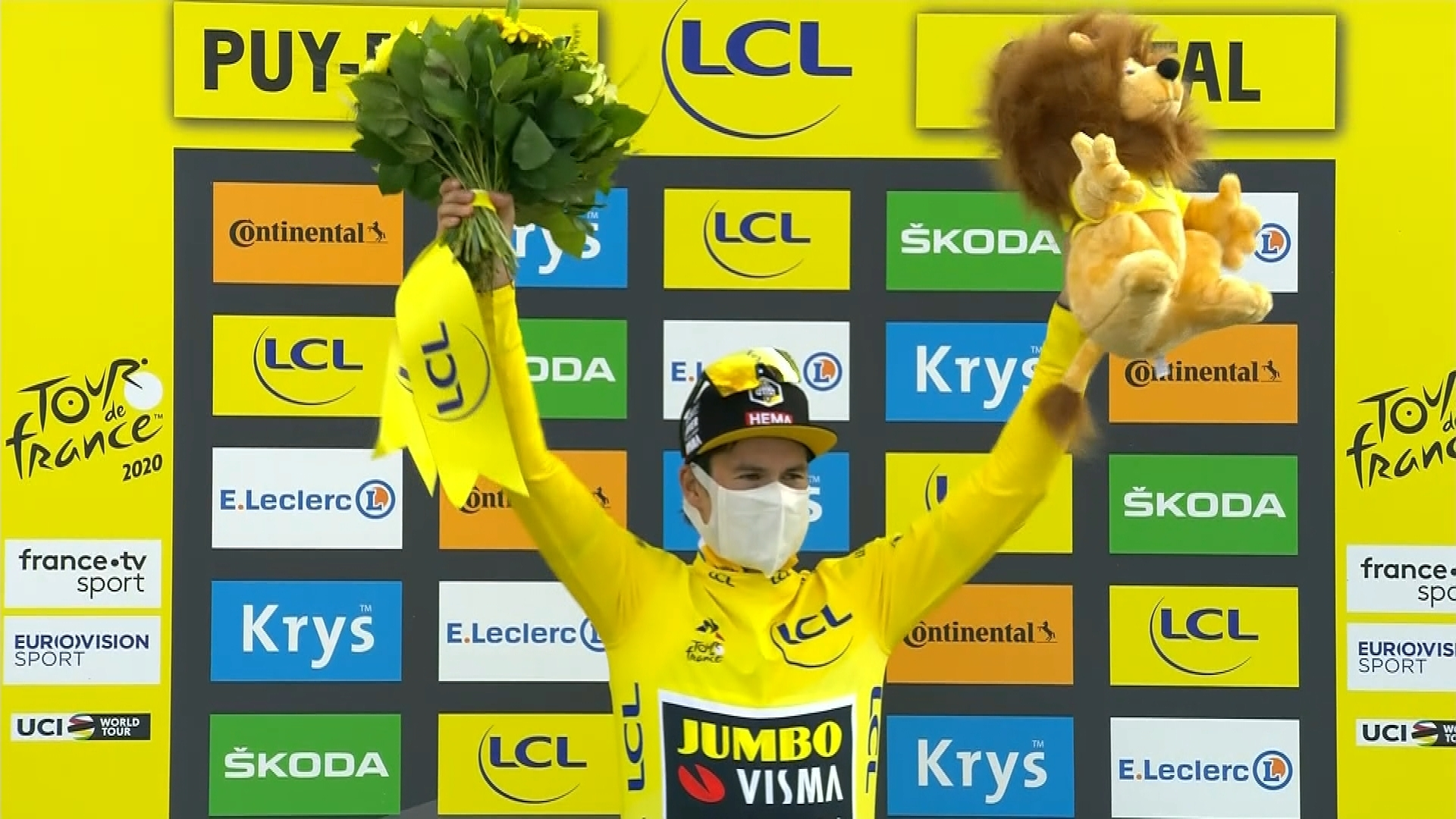 Tour De France 2020 Primoz Roglic Keeps Yellow Jersey After Stage 13 Nbc Sports