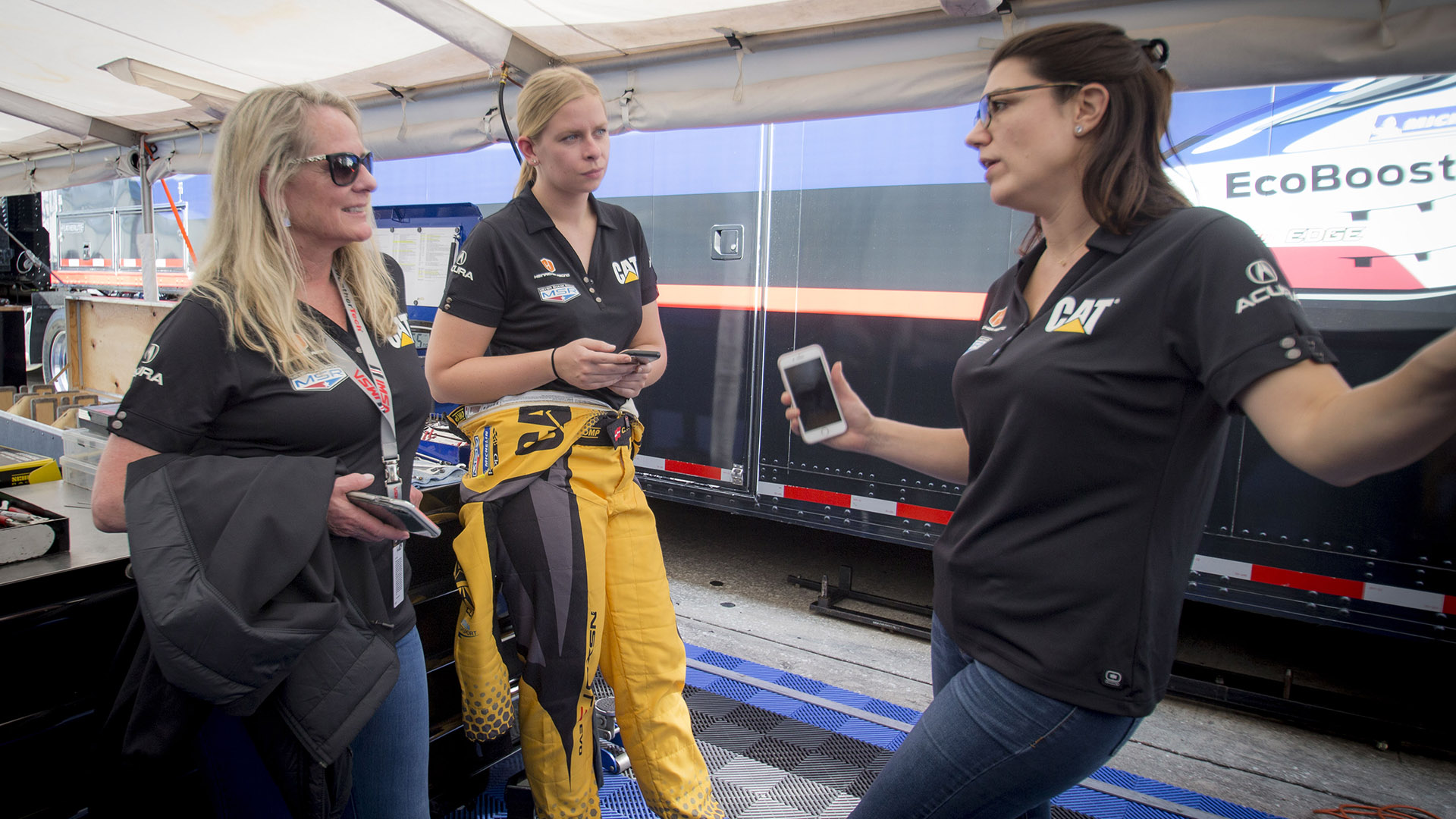 IMSA: Jackie Heinricher blazing a trail on and off the race track
