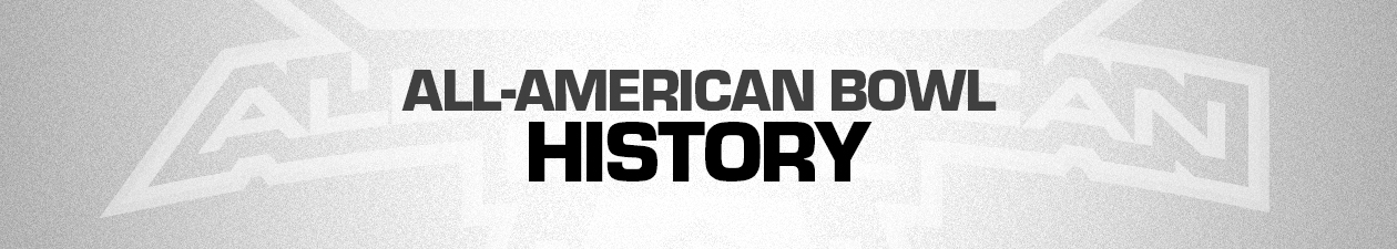 All American Bowl History