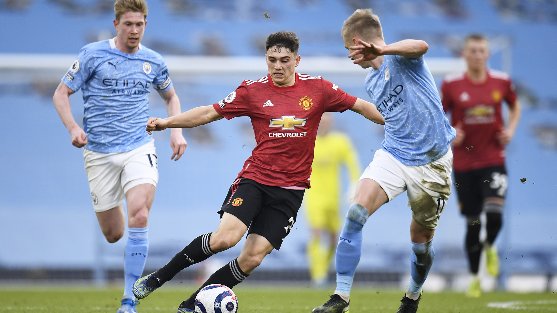 Extended highlights: Manchester City 0, Manchester United 2 | NBC Sports