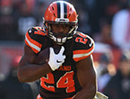 Dose: Chubb leads Browns