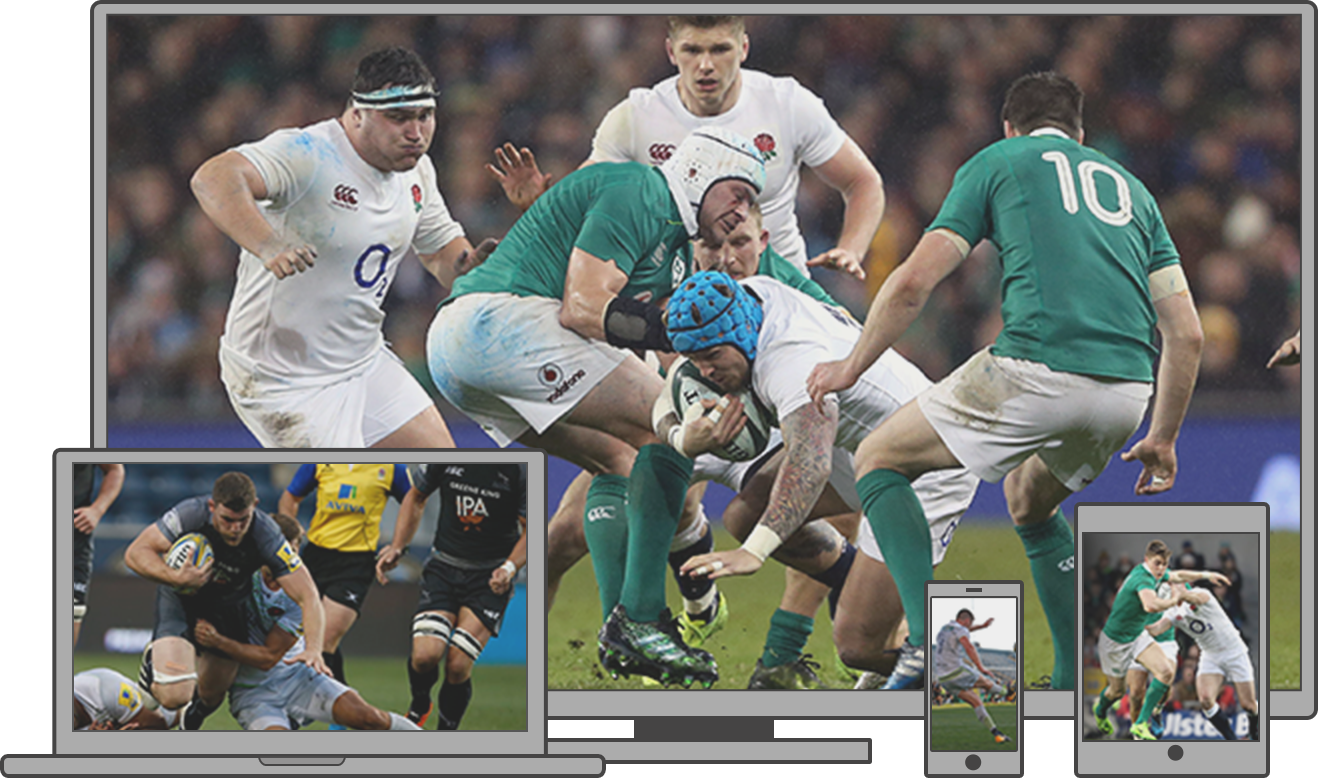 Watch rugby action on multiple platforms