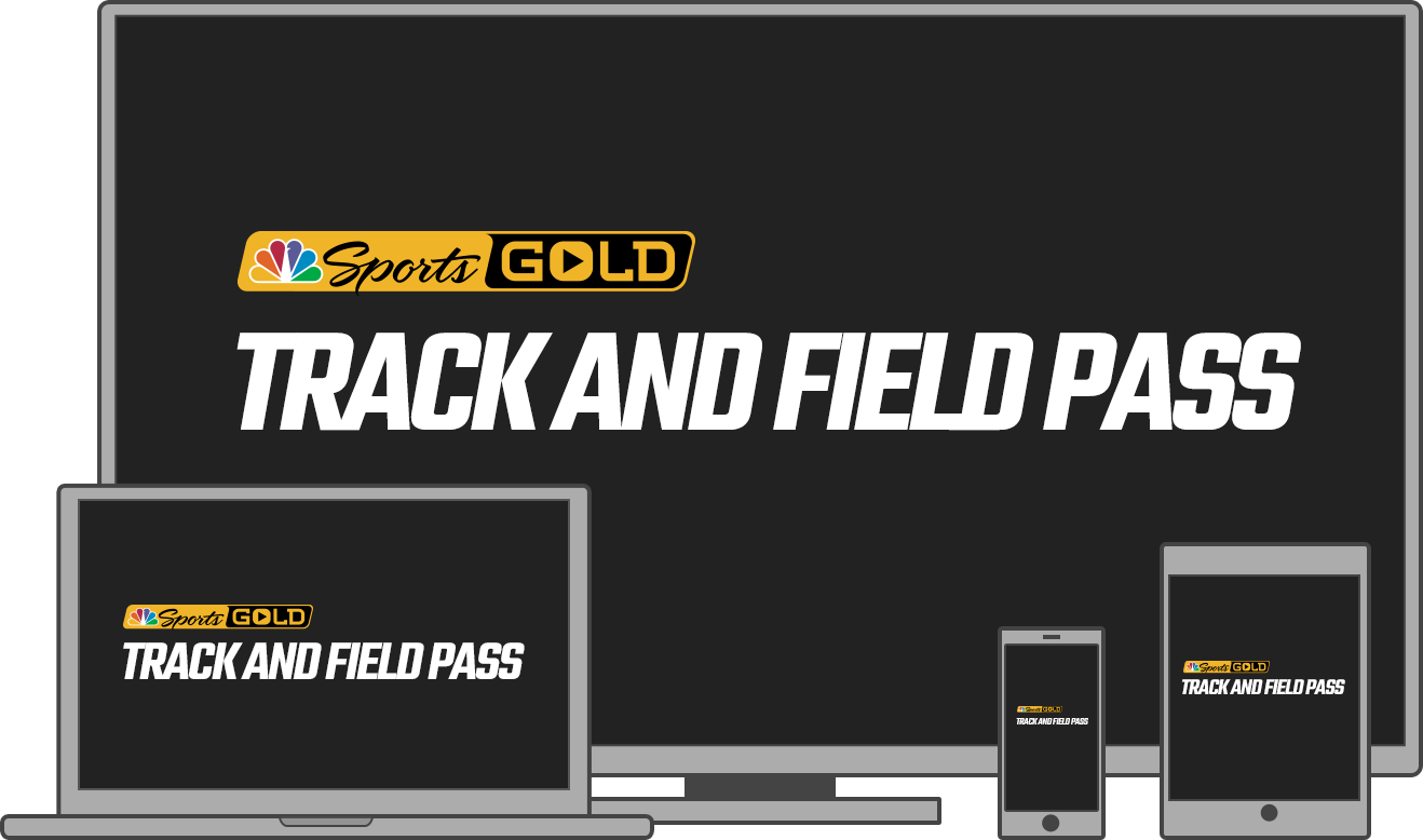 Watch track and field action on multiple platforms