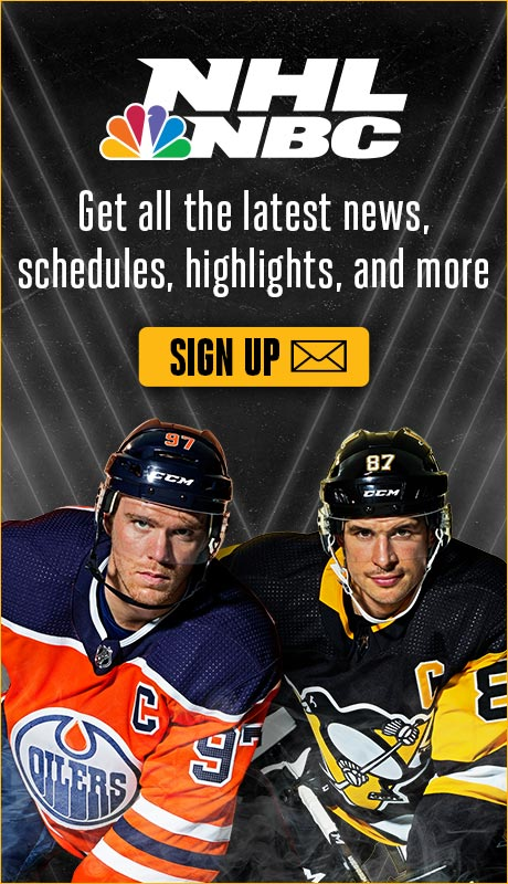 NHL Email Sign Up