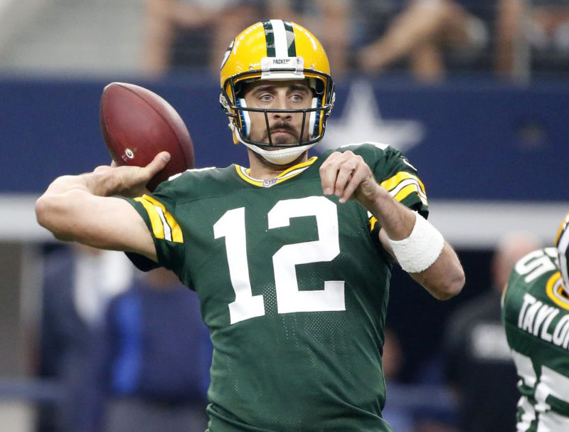 Roto Pat: Start Rodgers