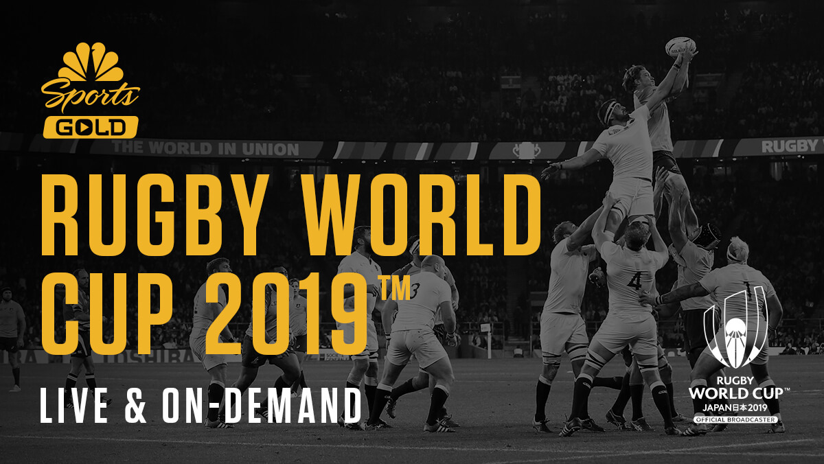 NBC Sports Gold Rugby World Cup Pass