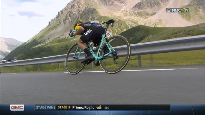 Tour De France Primoz Roglic Wins Stage 17 As Chris Froome Adds To Lead Nbc Sports