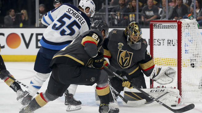 best sneakers f74f9 f16f8 Marc-Andre Fleury still phenomenal in net for Golden Knights ...