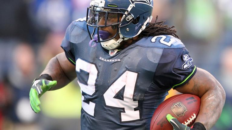 Marshawn Lynch, Seahawks running back