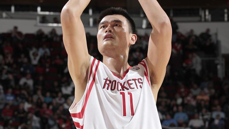 Yao Ming, West starter
