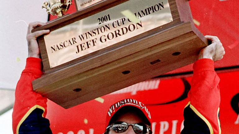 2001: Jeff Gordon