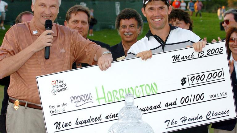2005: Padraig Harrington