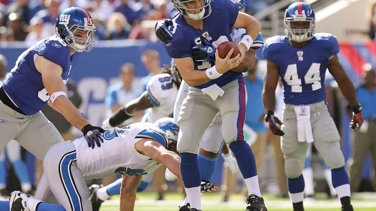 New York Giants 28, Detroit 20