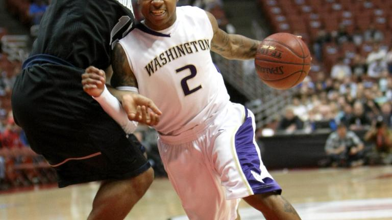 Isaiah Thomas, Washington junior