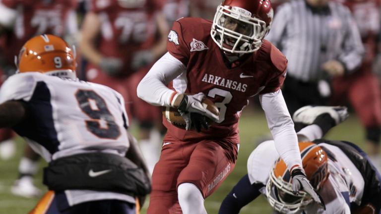 No. 14 Arkansas 58, UTEP 21