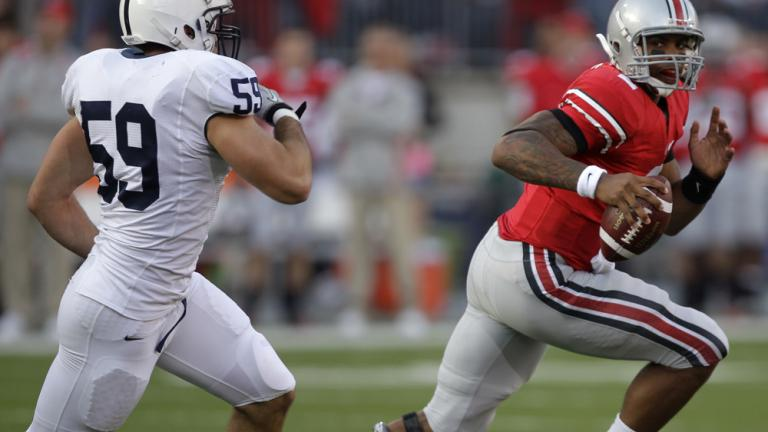 No. 8 Ohio State 38, Penn State 14