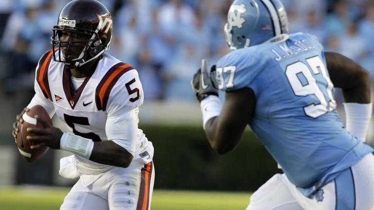 No. 16 Virginia Tech 26, North Carolina 10