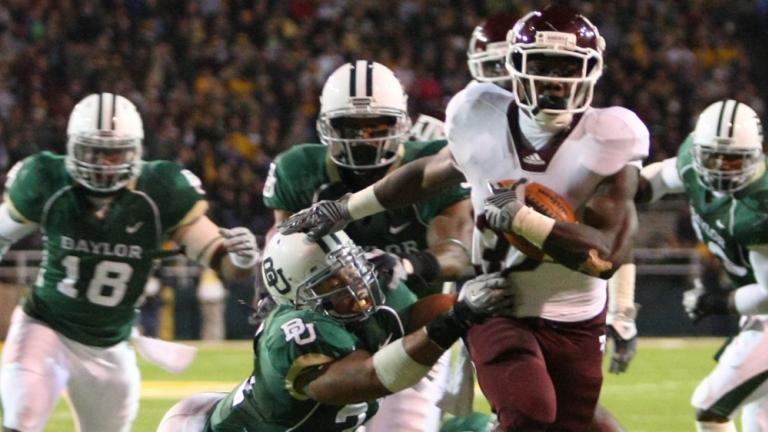 No. 23 Texas A&M 42, Baylor 30