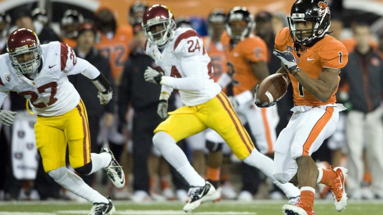 Oregon State 36, No. 20 USC 7