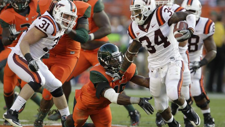 No. 14 Virginia Tech 31, No. 24 Miami 17