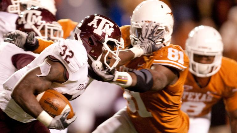 No. 17 Texas A&M 24,<br>Texas 17