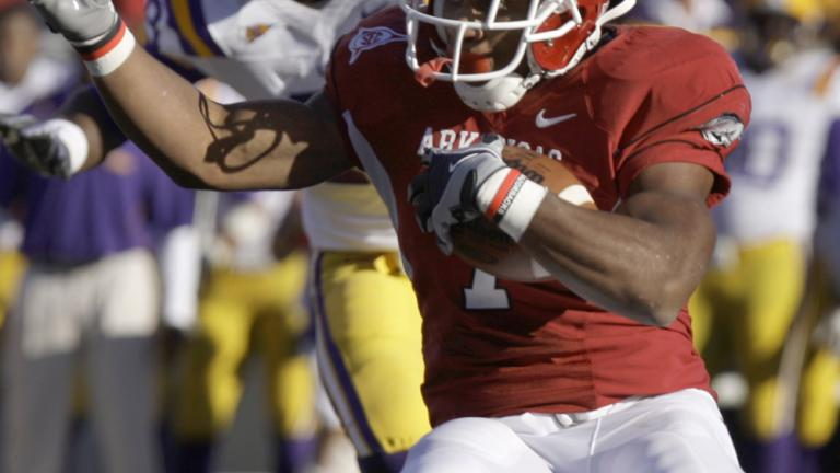 No. 12 Arkansas 31, No. 6 LSU 23