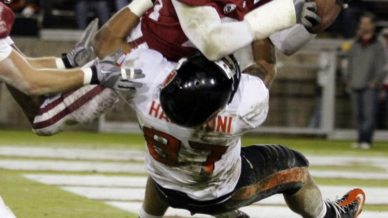 No. 7 Stanford 38, Oregon State 0
