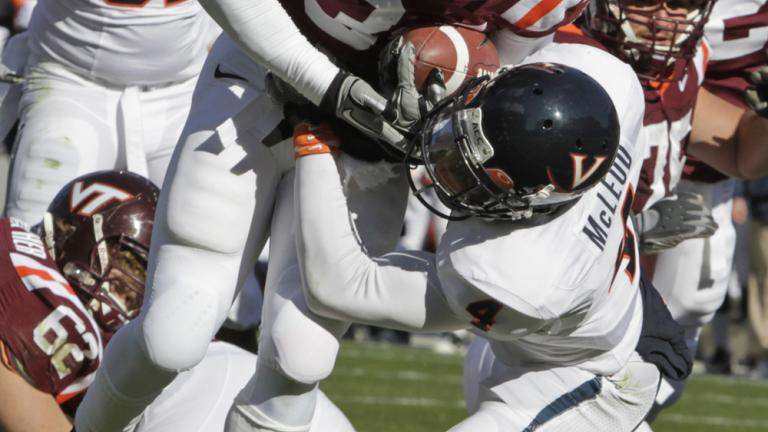 No. 13 Virginia Tech 37, Virginia 7