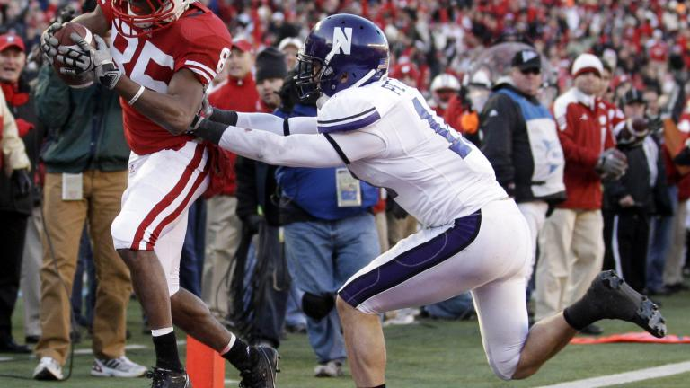 No. 5 Wisconsin 70, Northwestern 23