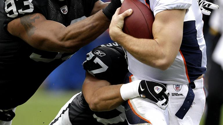<b>Sept. 12:</b> Raiders at Broncos