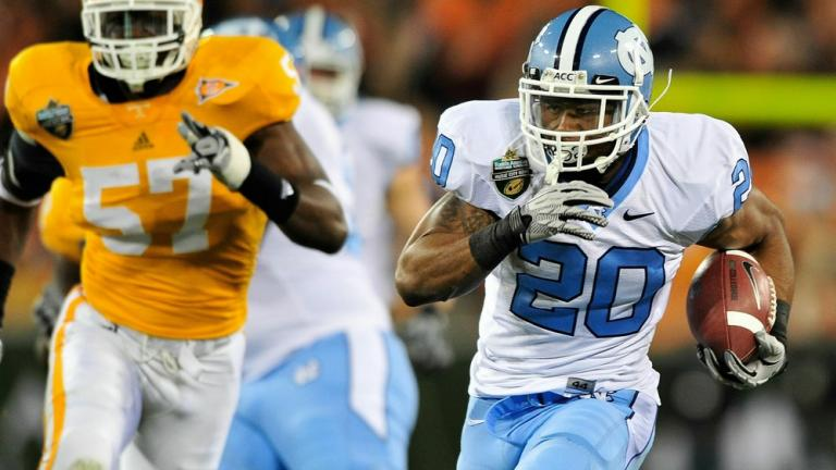 Music City:<br>North Carolina 30,<br>Tennessee 27, 2OT