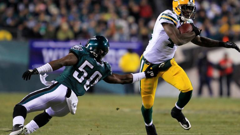 James Starks<br>Packers running back