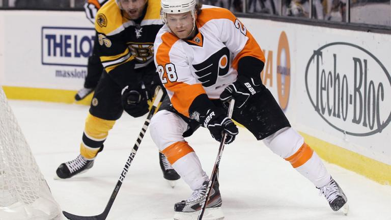 Claude Giroux<br>Philadelphia Flyers<br>Forward<br>Pick No. 25