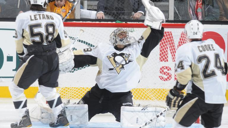Marc-Andre Fleury<br>Pittsburgh Penguins