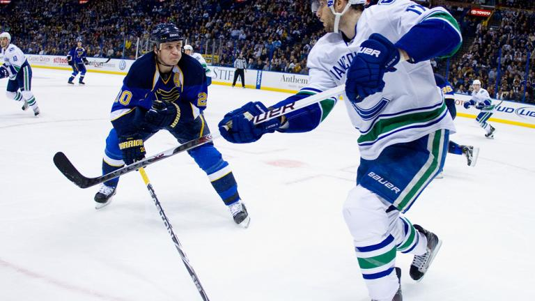 Ryan Kesler<br>Vancouver Canucks<br>Forward<br>Alternate captain