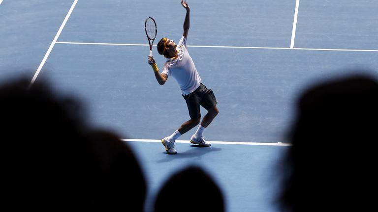 Spotlight on Federer