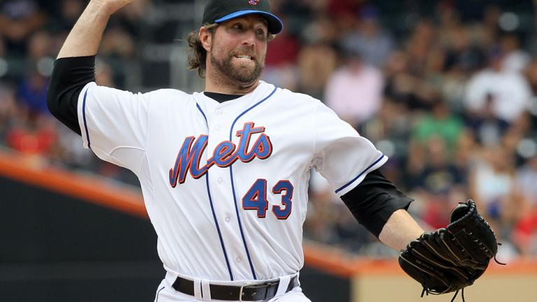 R.A. Dickey, SP, New York Mets