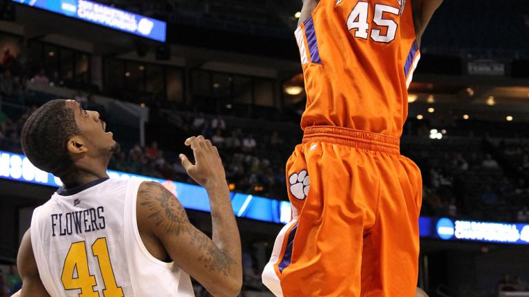 No. 5 West Virginia 84, No. 12 Clemson 76