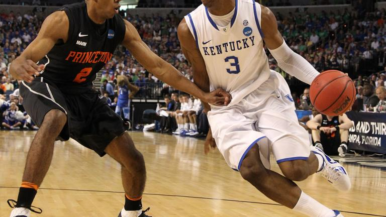 No. 4 Kentucky 59, No. 13 Princeton 57
