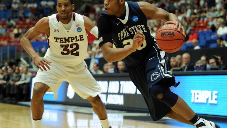 No. 7 Temple 66, No. 10 Penn State 64
