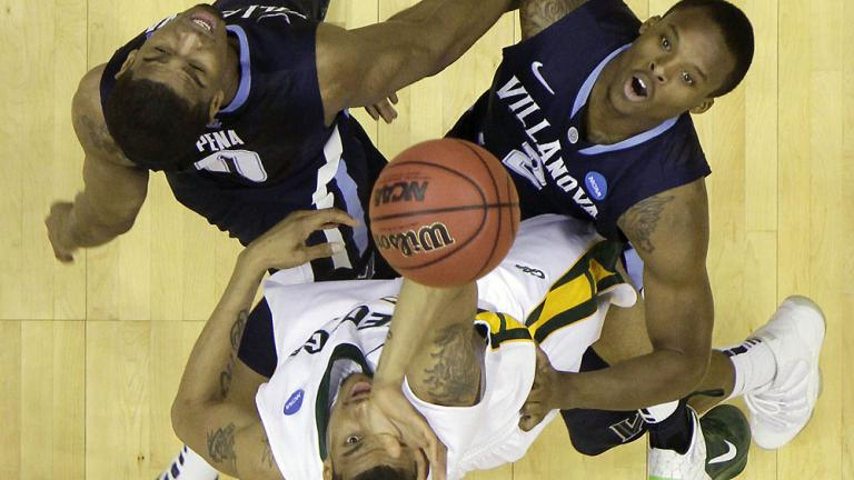 No. 8 George Mason 61, No. 9 Villanova 57