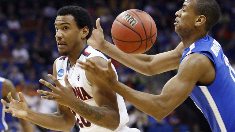 No. 5 Arizona 77, No. 12 Memphis 75